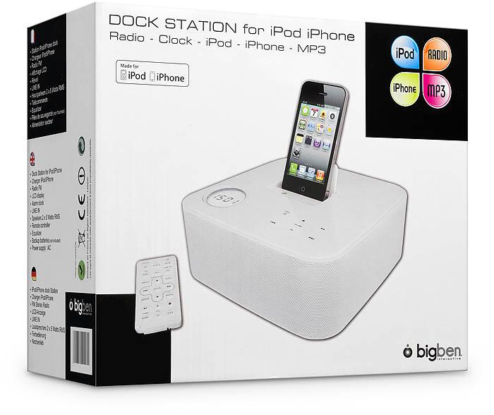 iPod/iPhone Docking Station ST01 | Bigben Deutschland ...