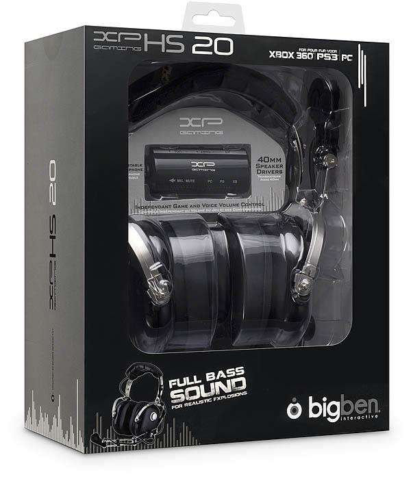 Gaming Headset XPHS 20 - Packshot