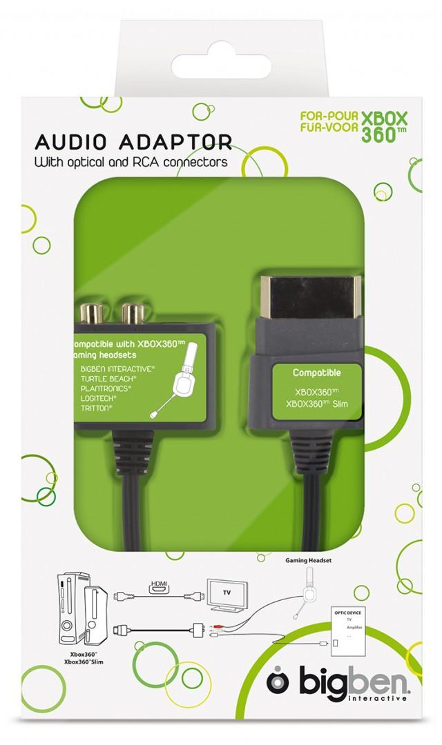 Xbox360 Audio-Headset-Adapter - Packshot