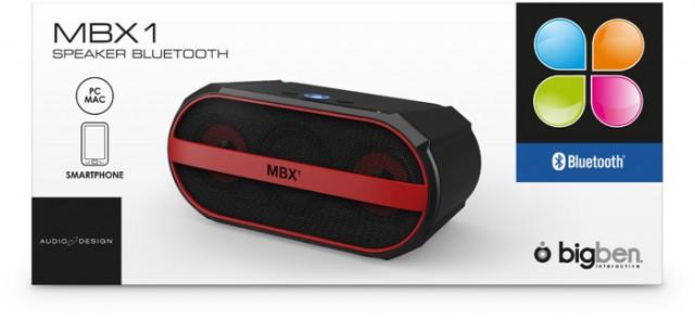 Bluetooth-Lautsprecher MBX1 - Packshot