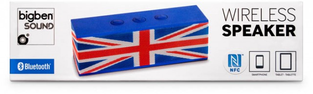 Bluetooth-Lautsprecher BT01 - Union Jack - Packshot