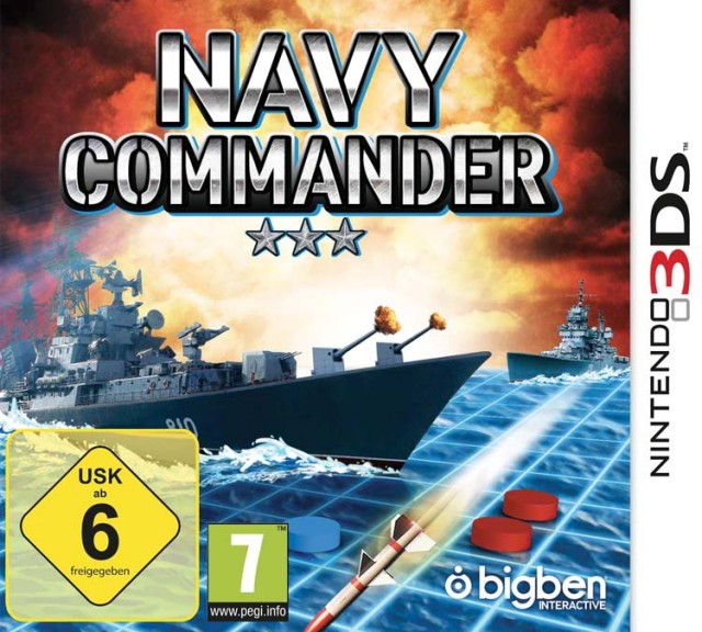 Navy Commander - Packshot