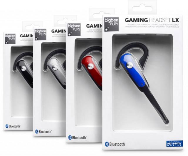 PS3 Gaming Headset LX [Bluetooth® Headset] - Packshot