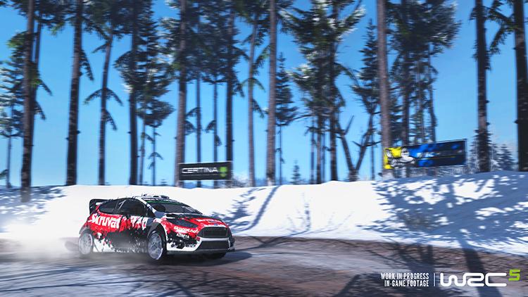 WRC 5 - Screenshot #2