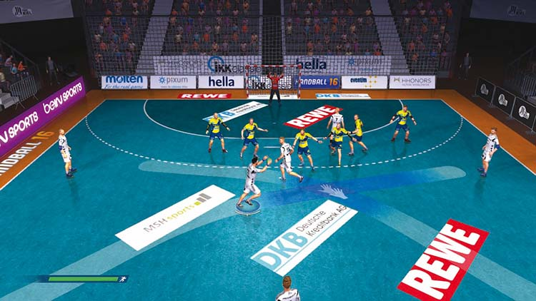 Handball 16 - Screenshot #1