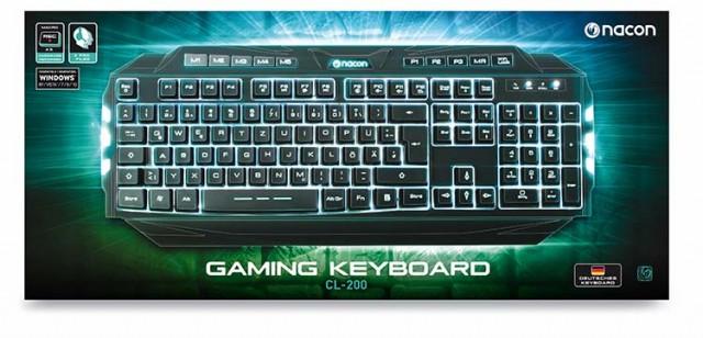 PC-Gaming Keyboard CL-200DE - Packshot
