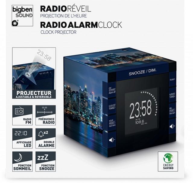 Radiowecker RR70 – New York by night - Packshot
