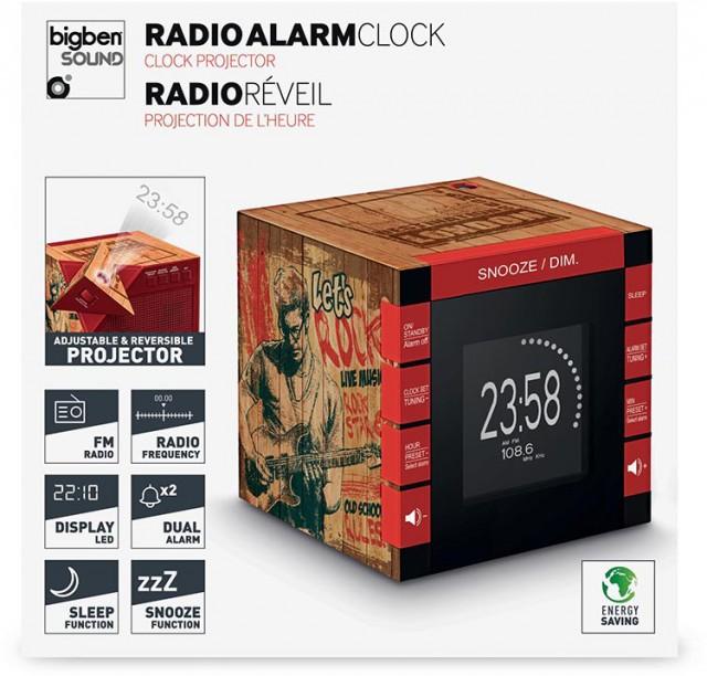 Radiowecker RR70 – Rockwood - Packshot