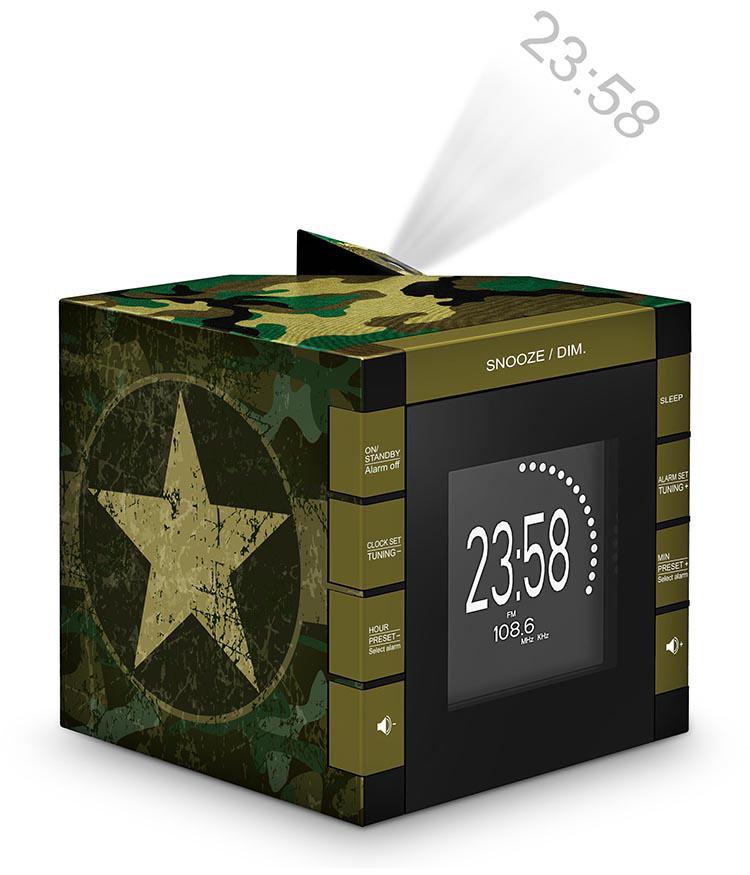Radiowecker RR70 – Camouflage - Bild #3