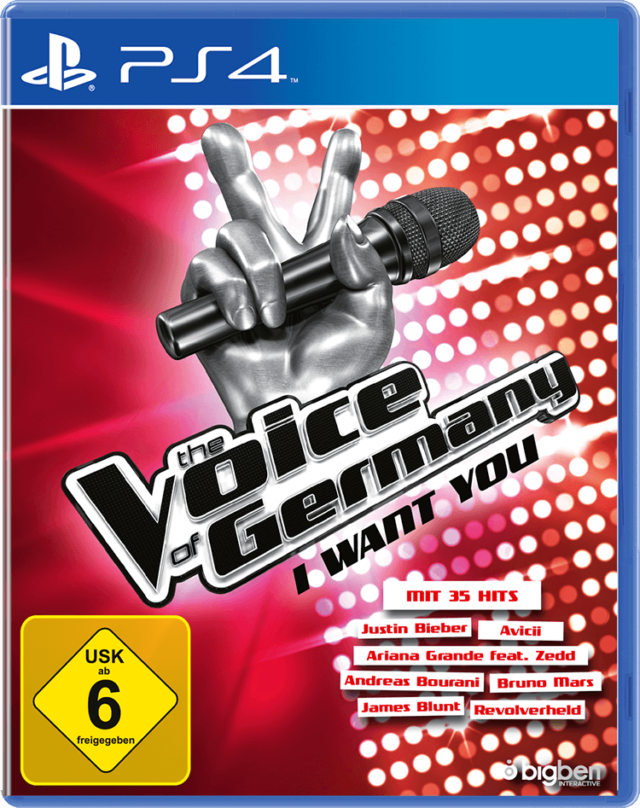The Voice of Germany – I Want You - Packshot