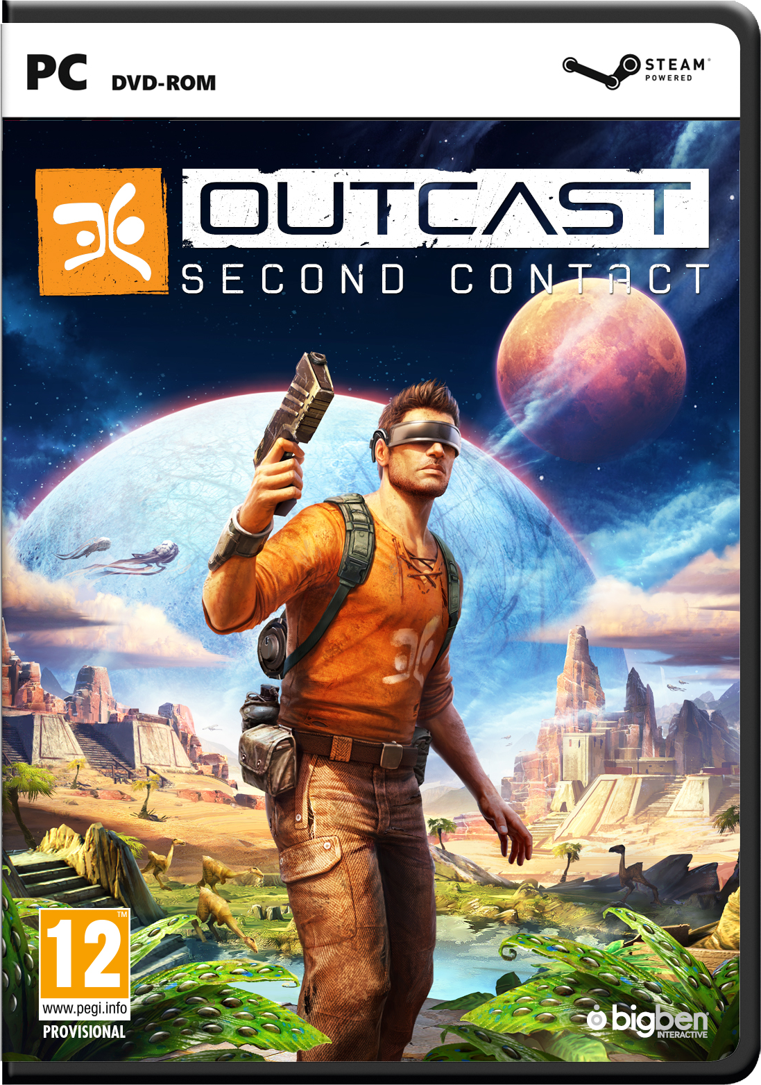 OUTCAST - Second Contact, PC