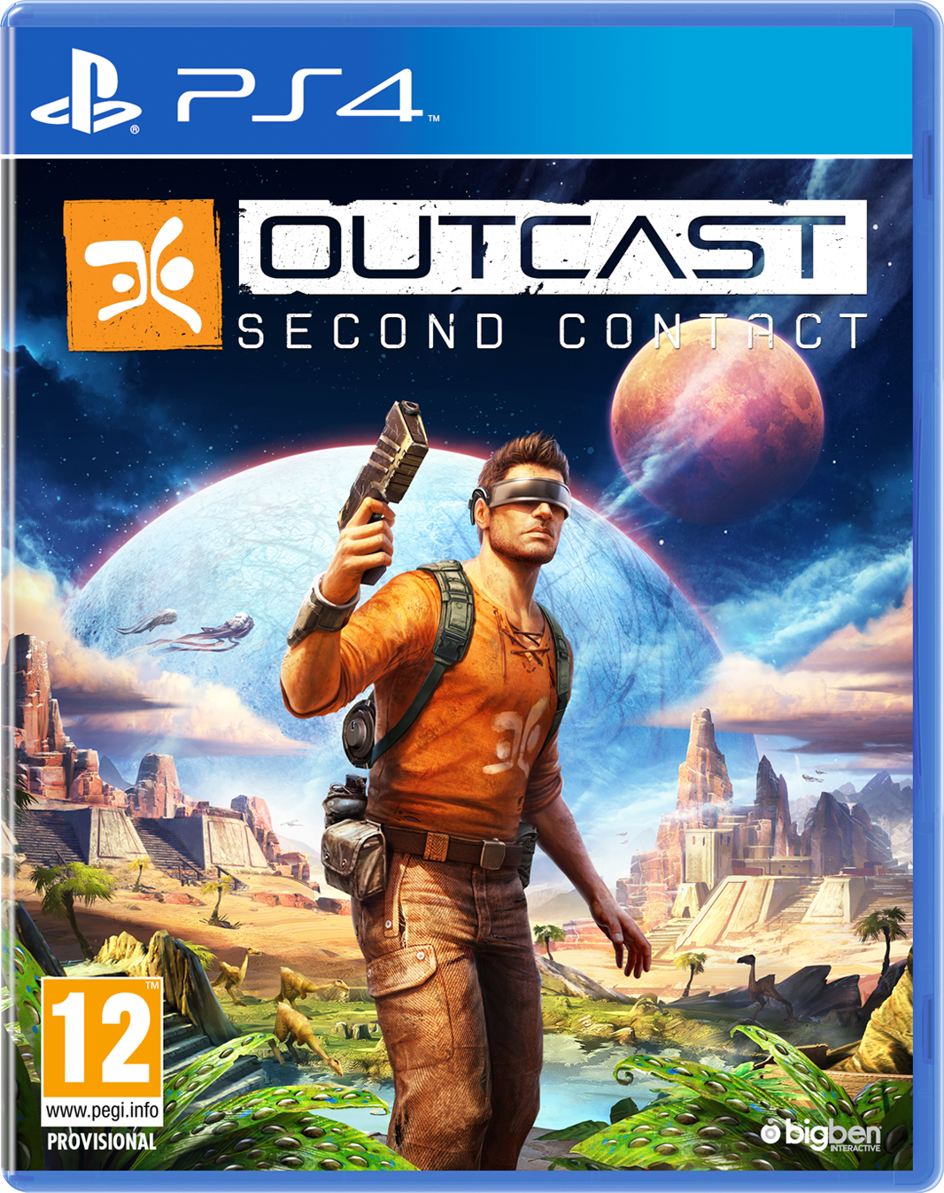 OUTCAST - Second Contact, PS4
