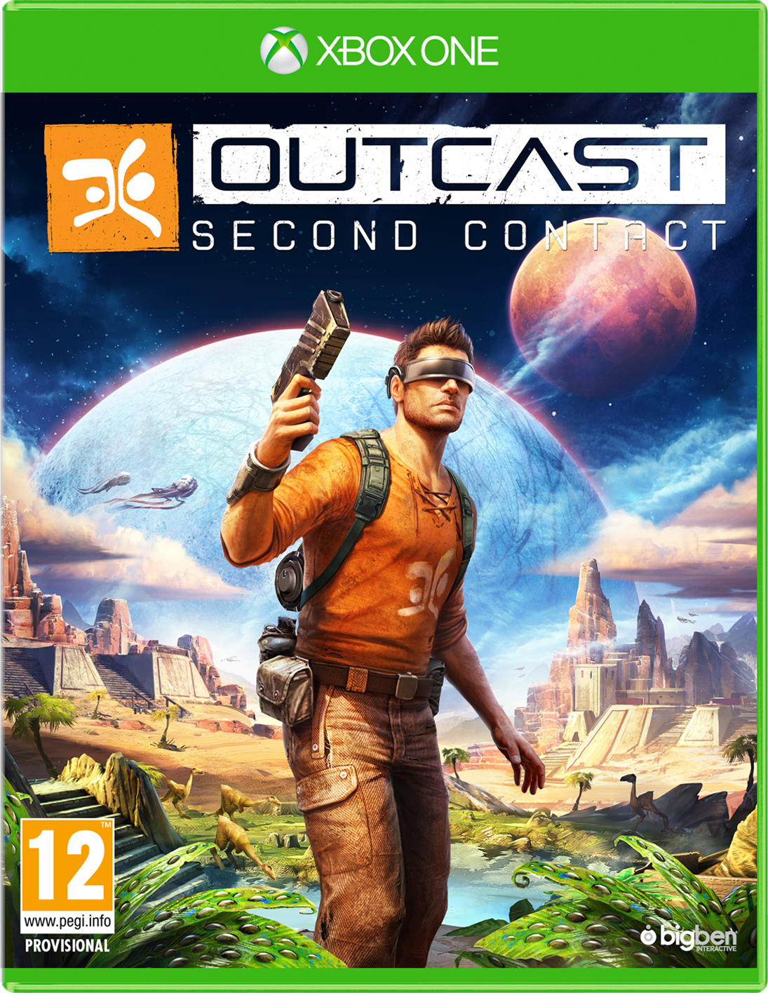 OUTCAST - Second Contact, Xbox one