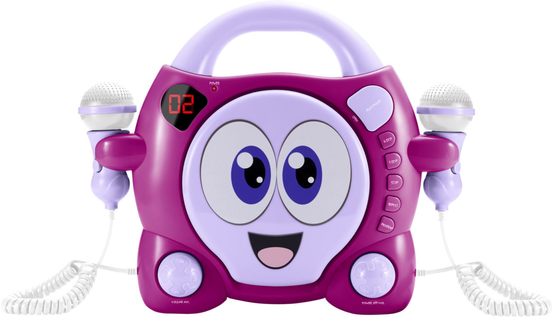 Karaoke-CD-Player für Kids