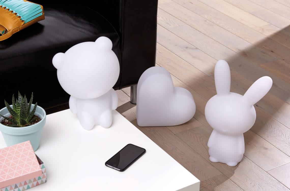 Lumin'Us - Leuchtende Bluetooth®-Lautsprecher