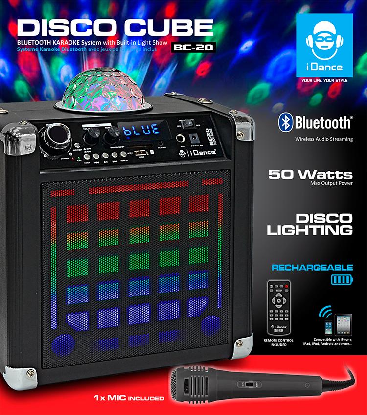 Karaoke System BC-20 - Packshot