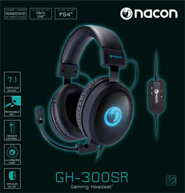 Nacon Gaming Headset 7.1 GH-300SR - Packshot