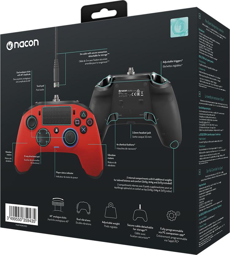 NACON PS4 Revolution Pro Controller - Bild#2tutu#4tutu#6tutu
