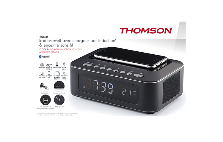THOMSON CR400iBT - Packshot