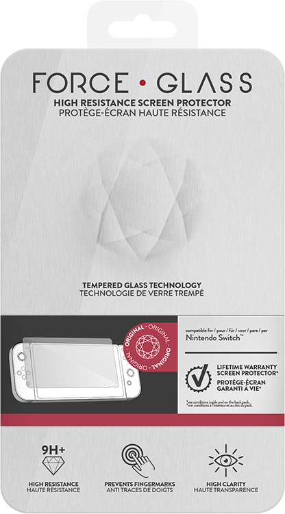 FORCE GLASS SWITCH™ Screen Protector 9H+ - Packshot