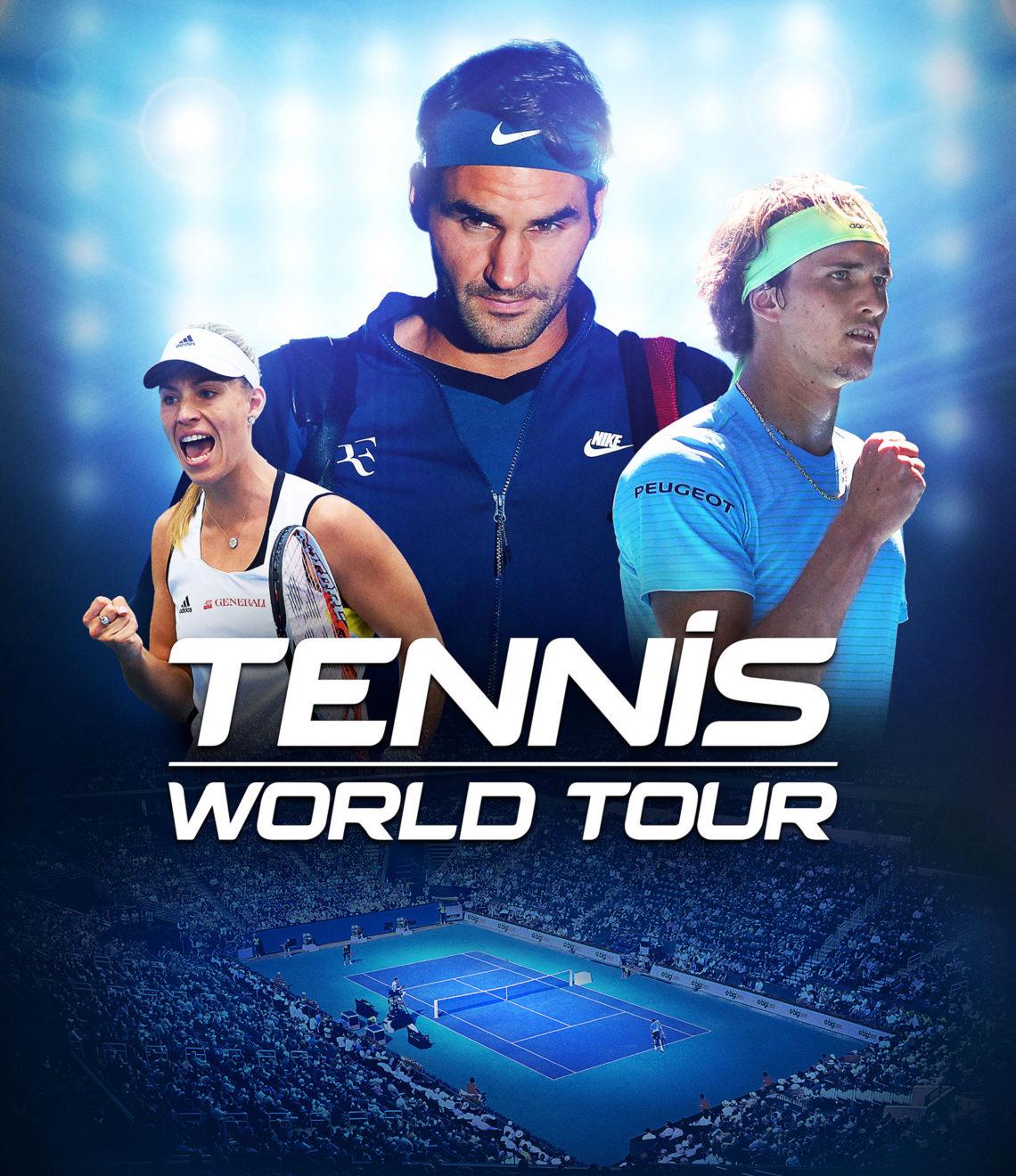 Tennis World Tour Keyart