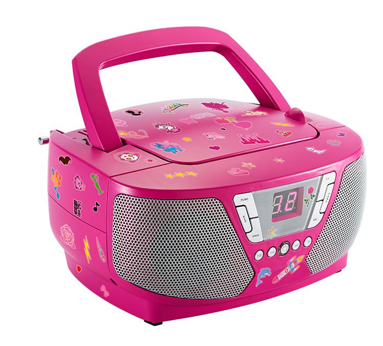 Tragbares CD/Radio CD60 KIDS - Bild#2tutu