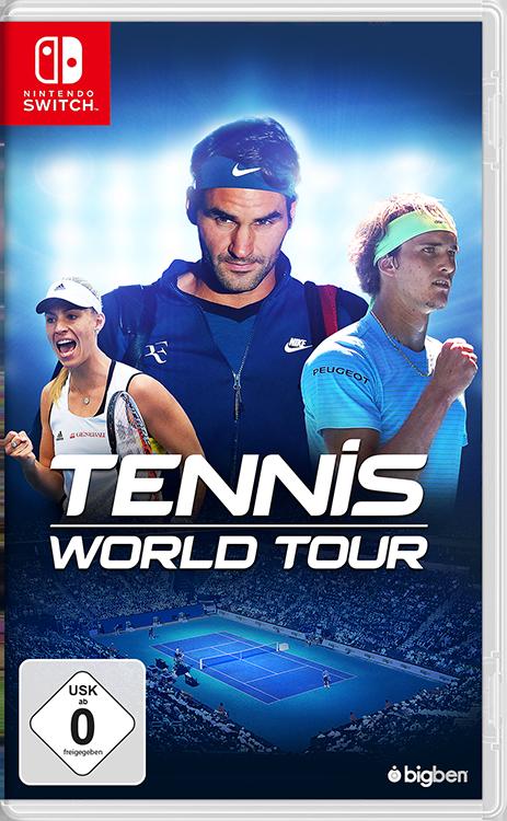 Tennis World Tour - Packshot