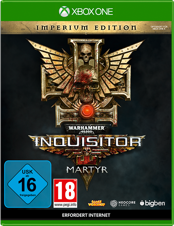 Warhammer 40,000: Inquisitor – Martyr – Imperium Edition - Packshot