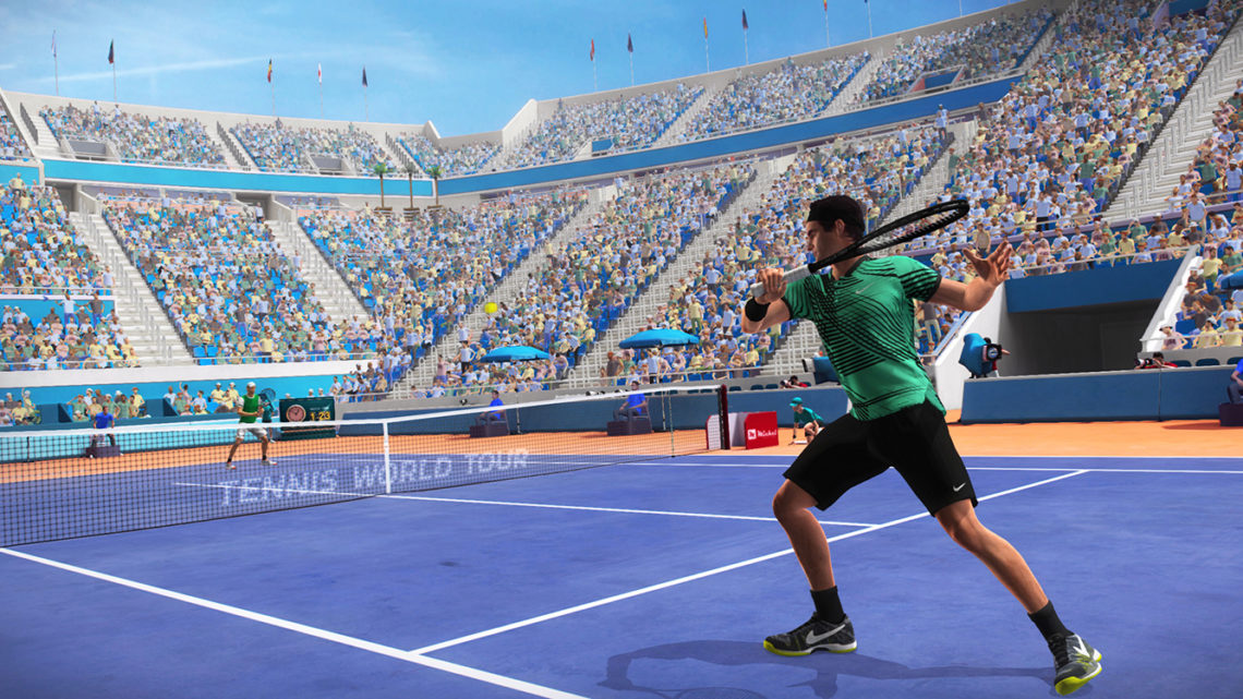 Tennis World Tour Legends Edition - Screenshot