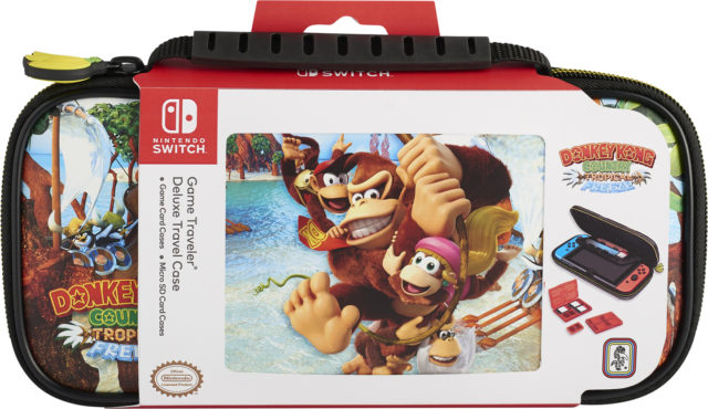 SWITCH™ Travel Case Donkey Kong Country Tropical Freeze NNS52A - Packshot