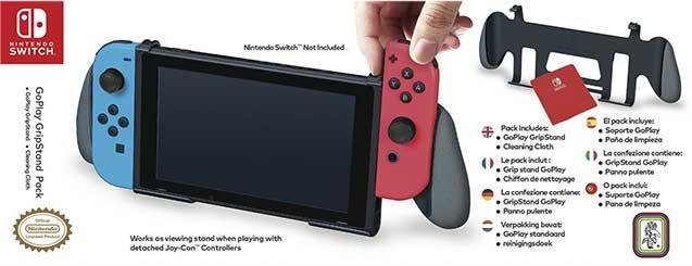 Switch Go Play Grip NNS9 – Offiziell lizenziert - Packshot