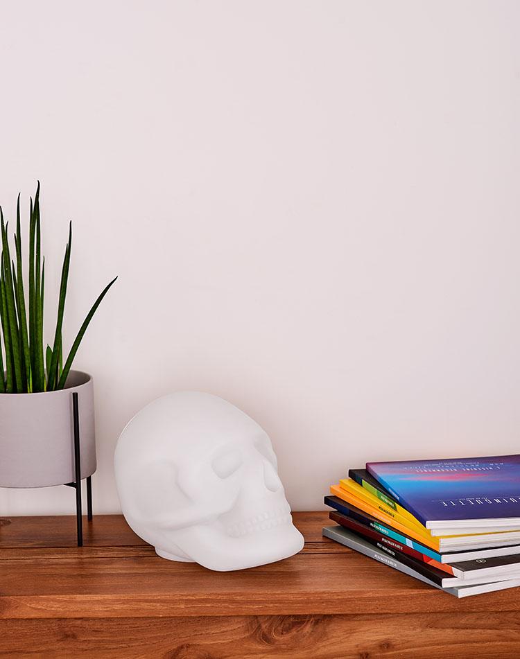 Bluetooth®-Lautsprecher – Lumin´Us Skull - Bild#2tutu#4tutu#6tutu#8tutu#9