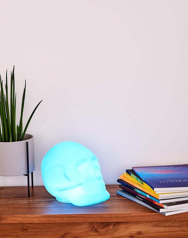 Bluetooth®-Lautsprecher – Lumin´Us Skull - Bild#2tutu#4tutu#6tutu#8tutu#10tutu