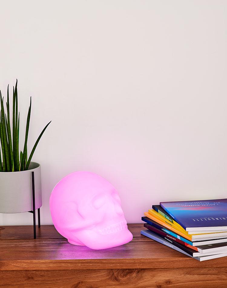 Bluetooth®-Lautsprecher – Lumin´Us Skull - Bild#2tutu#4tutu#6tutu#8tutu#10tutu#12tutu