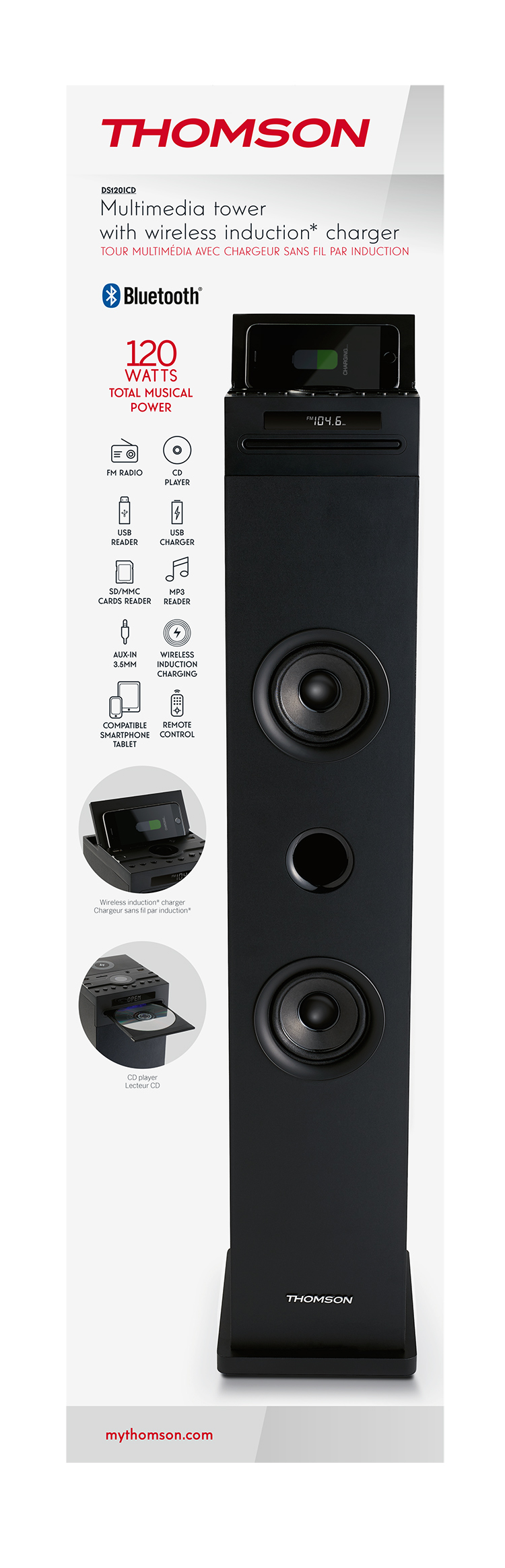 Thomson DS120CD inkl. Induktionslader - Packshot