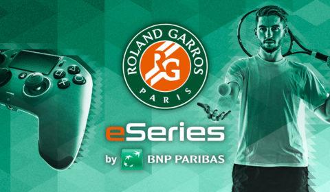 Roland-Garros eSeries by BNP Paribas: Das erste Tennis Gaming-Turnier geht in die zweite Runde
