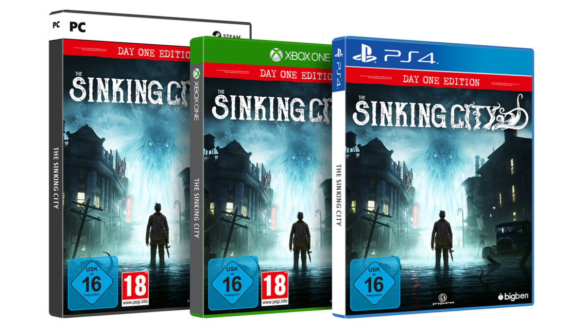 The Sinking City Day One Edition Packshots 3D