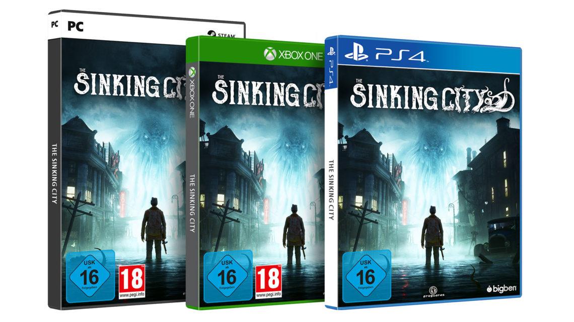The Sinking City Packshots 3D