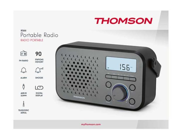 THOMSON RT300 - Packshot
