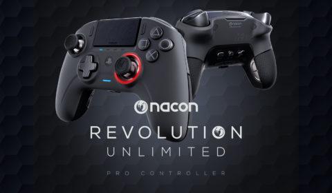 NACON REVOLUTION Unlimited Pro Controller ab jetzt erhältlich