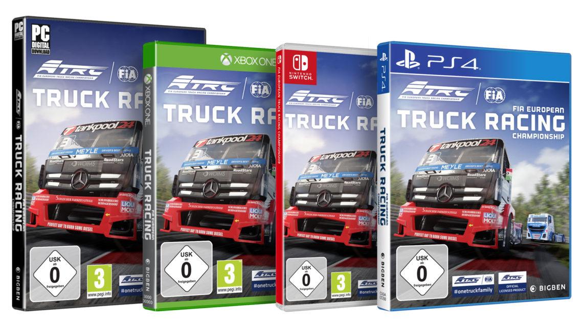 FIA European Truck Racing Championship ab morgen erhältlich