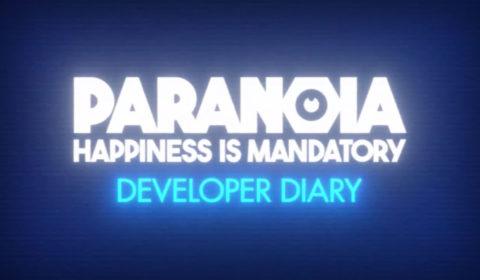 Paranoia: Happiness is Mandatory: Freund Computer veranlasst Freigabe des Entwicklertagebuchs