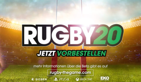 Rugby 20: Closed Beta startet heute