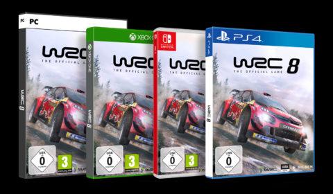 WRC 8 ab sofort für Nintendo Switch erhältlich