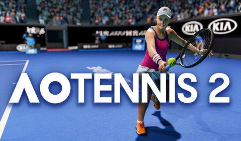 AO Tennis 2 präsentiert den handlungsbasierten Karrieremodus