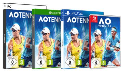 AO Tennis 2 ab morgen im Handel erhältlich