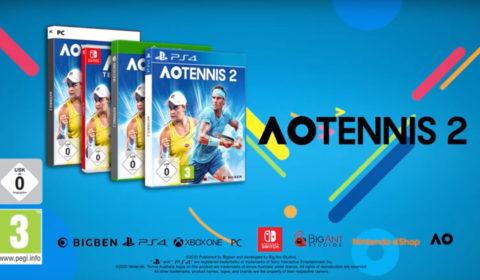 AO Tennis 2: Accolades-Trailer veröffentlicht