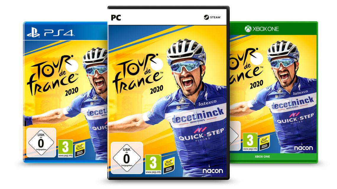 Tour de France 2020: Erstmals auch für PC und aus der Ego-Perspektive