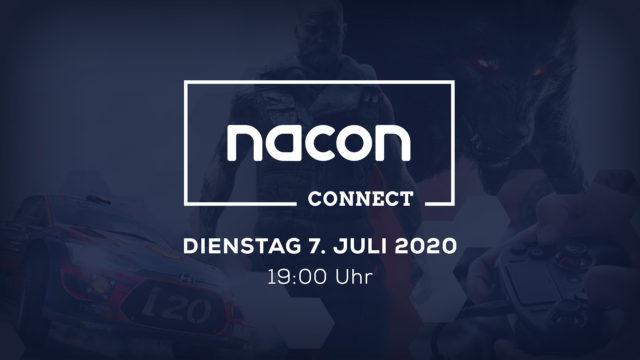 Erste NACON CONNECT wird am 07. Juli ausgestrahlt