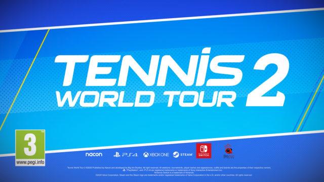 Tennis World Tour 2: Erster Gameplay-Trailer veröffentlicht